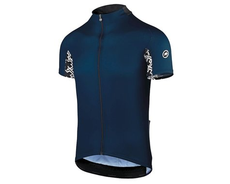 Assos Men's Mille GT Short Sleeve Jersey (Caleum Blue) (XL)