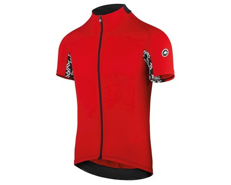 Assos Men's Mille GT Short Sleeve Jersey (National Red) (XL)