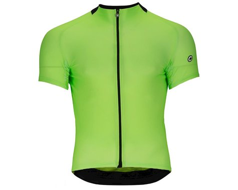 Assos Men's Mille GT Short Sleeve Jersey (Visibility Green) (XLG)