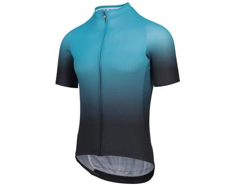 Assos MILLE GT Shifter Short Sleeve Jersey C2 (Hydro Blue) (XLG)