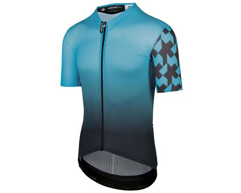 Assos Equipe RS Summer Short Sleeve Jersey (Hydro Blue) (Prof Edition) (XL)