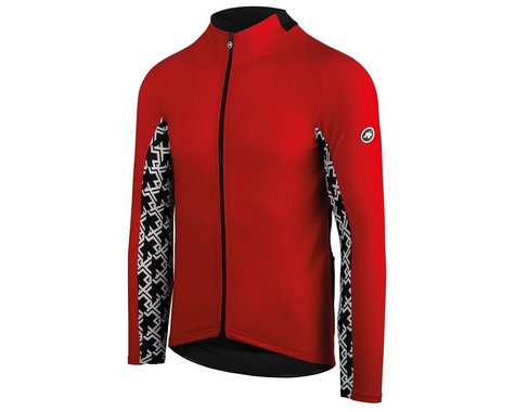 Assos MILLE GT Spring/Fall Long Sleeve Jersey (National Red) (L)