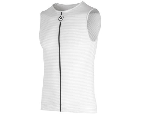 Assos Summer Sleeveless Skin Layer (Holy White) (XLG)