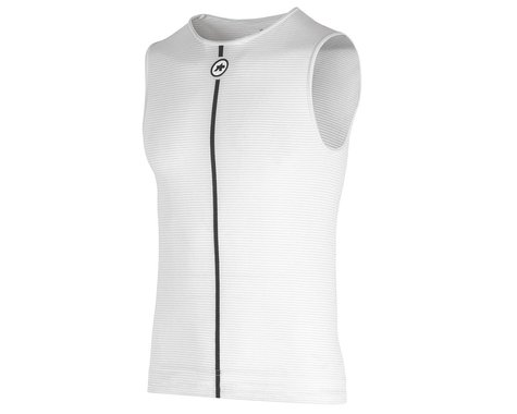 Assos Summer Sleeveless Skin Layer (Holy White) (L/XL)