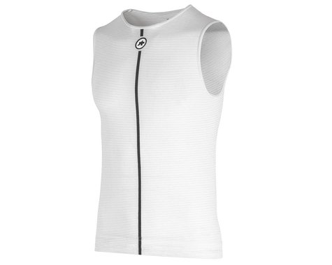 Assos Summer Sleeveless Skin Layer (Holy White) (XS/S)