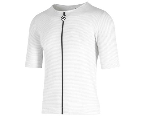 Assos Summer Short Sleeve Skin Layer (Holy White) (XLG)