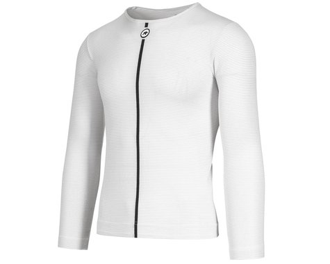 Assos Assosoires Summer Long Sleeve Skin Layer (Holy White) (XLG)
