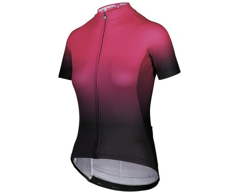 Assos Women's UMA GT C2 Shifter Short Sleeve Jersey (Foxyriser Pink) (XL)