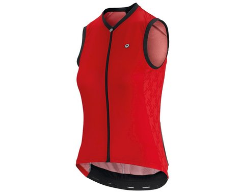 Assos Women's UMA GT Sleeveless Jersey  (National Red) (M)