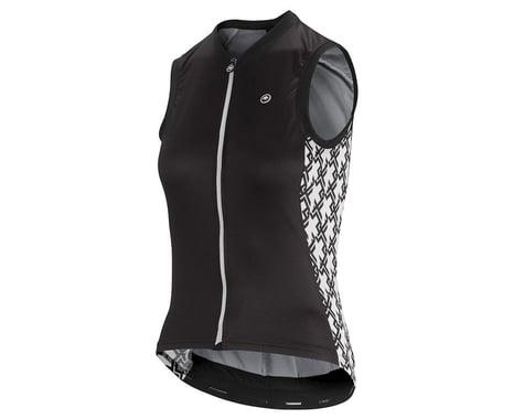 Assos Women's UMA GT Sleeveless Jersey (Black Series) (L)