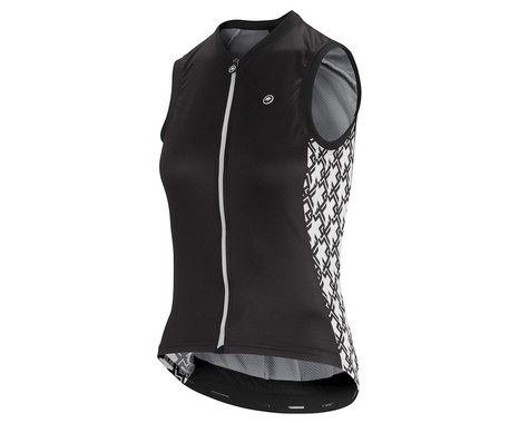 Assos Women's UMA GT Sleeveless Jersey (Black Series) (S)