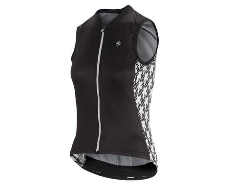 Assos Women's UMA GT Sleeveless Jersey (Black Series) (XLG)