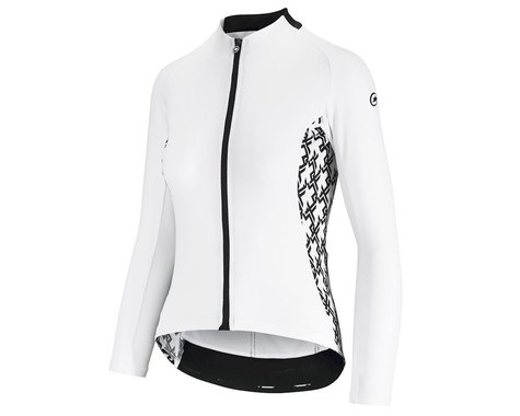 Assos Women's UMA GT Long Sleeve Summer Jersey (Holy White) (XL)