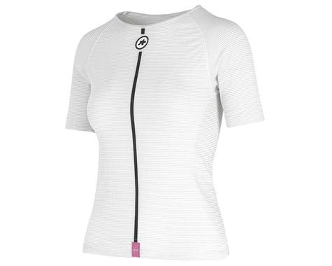 Assos Women's Summer Short Sleeve Skin Layer (Holy White) (L/XL)