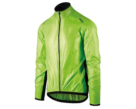 Assos Mille GT Men's Wind Jacket (Visibility Green) (XS)