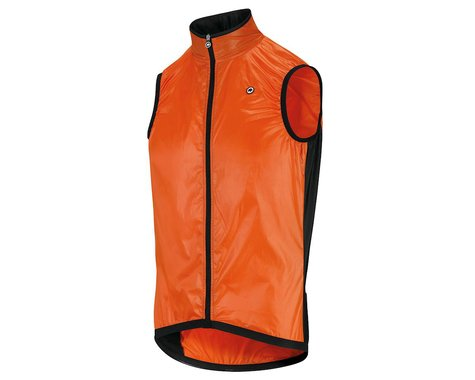 Assos Men's Mille GT Wind Vest (Lolly Red) (XL)