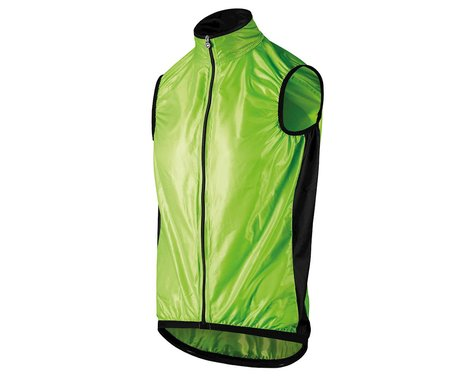 Assos Men's Mille GT Wind Vest (Visibility Green) (M)