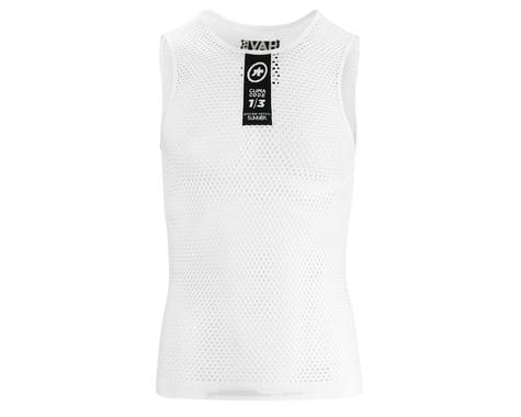 Assos Skinfoil Sleeveless Summer Base Layer (Holy White) (XLG)