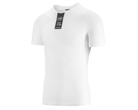 Assos Skinfoil Short Sleeve Summer Base Layer (Holy White) (L/XL)