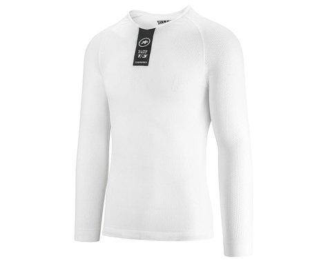 Assos Skinfoil Long Sleeve Summer Base Layer (Holy White) (XLG)