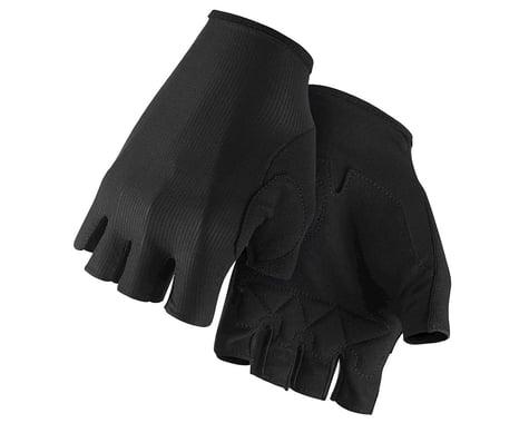 Assos RS Aero Short Finger Gloves (Black Series) (L)