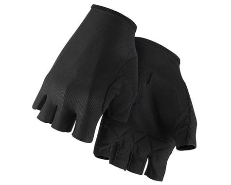 Assos RS Aero Short Finger Gloves (Black Series) (XL)