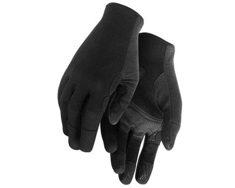 Assos Trail Long Finger Gloves (Black Series) (XL)