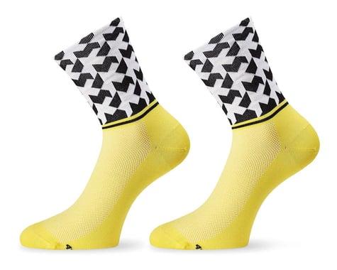 Assos Monogram Socks Evo8 (Voltyellow) (M)