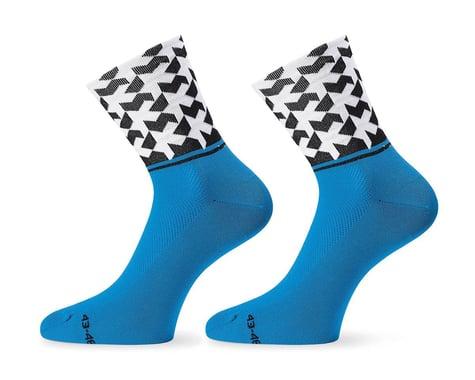Assos Monogram Sock Evo8 (Calypso Blue) (M)