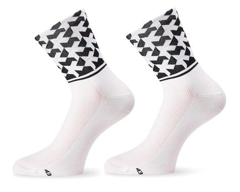 Assos Monogram Sock Evo8 (Holy White) (L)