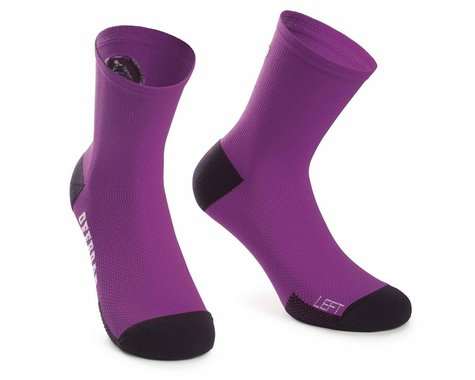 Assos XC Socks (Cactus Purple) (M)