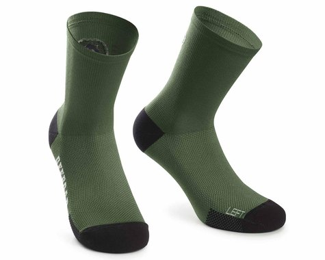 Assos XC Socks (Mugo Green) (M)