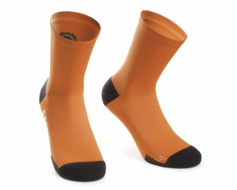 Assos XC Socks (Open Orange) (M)