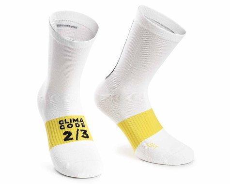 Assos Assosoires Spring/Fall Socks (Holy White) (S)