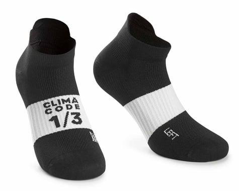 Assos Assosoires Hot Summer Socks (Black Series) (S)