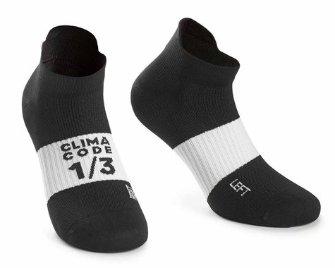Assos Assosoires Hot Summer Socks (Black Series) (L)