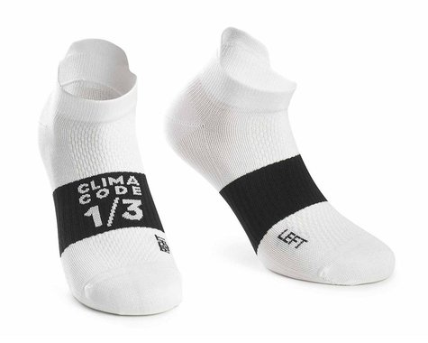 Assos Assosoires Hot Summer Socks (Holy White)