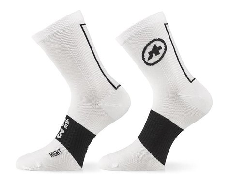 Assos Assosoires Summer Socks (Holy White) (S)