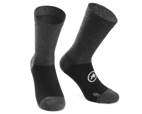 Assos Trail Socks (Black Series) (M)
