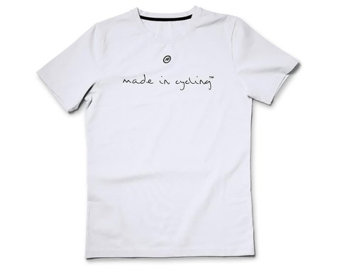 Assos Made in Cycling T-Shirt  (Holy White) (L)