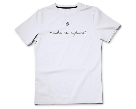 Assos Made in Cycling T-Shirt  (Holy White) (XL)