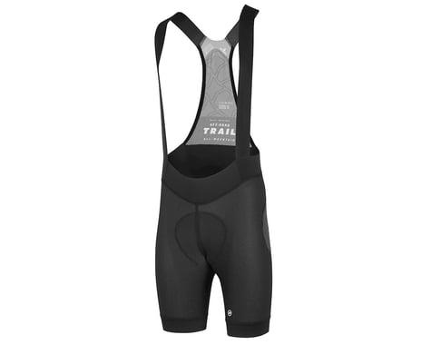 Assos Men's Trail Liner Bib Shorts (Black Series) (L)