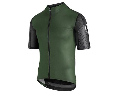 Assos Men's XC Short Sleeve Jersey (Mugo Green) (XLG)