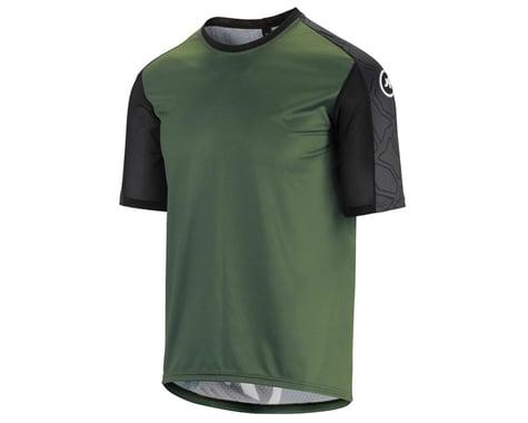Assos Men's Trail Short Sleeve Jersey (Mugo Green) (XLG)