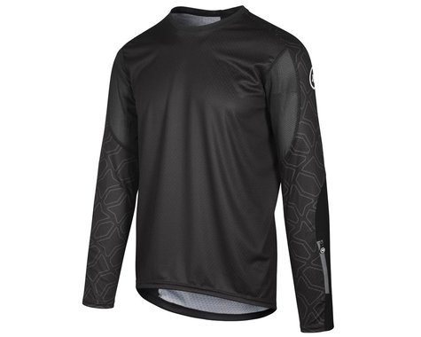 Assos Men's Trail Long Sleeve Jersey (Black Series) (XL)