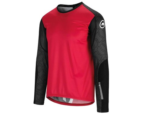 Assos Men's Trail Long Sleeve Jersey (Rodo Red) (M)