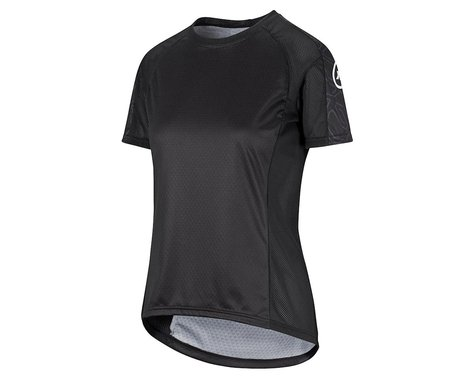 Assos Women's Trail Short Sleeve Jersey (Black Series) (XL)