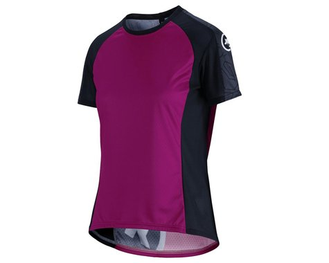 Assos Women's Trail Short Sleeve Jersey (Cactus Purple) (XL)