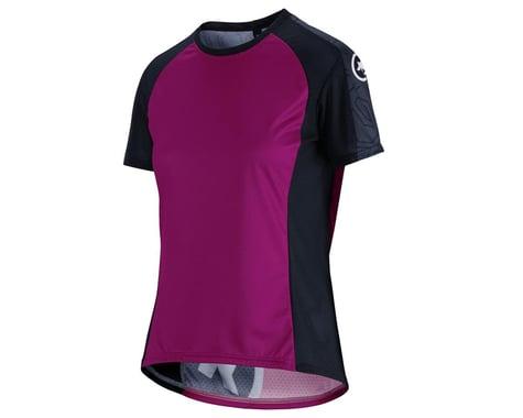 Assos Women's Trail Short Sleeve Jersey (Cactus Purple) (XLG)