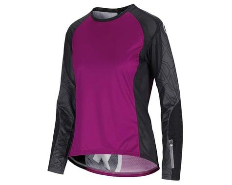 Assos Women's Trail Long Sleeve Jersey (Cactus Purple) (XLG)